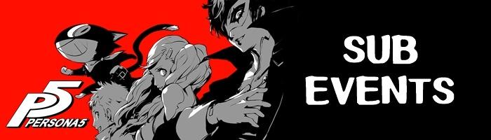 Persona 5 - Sub Events