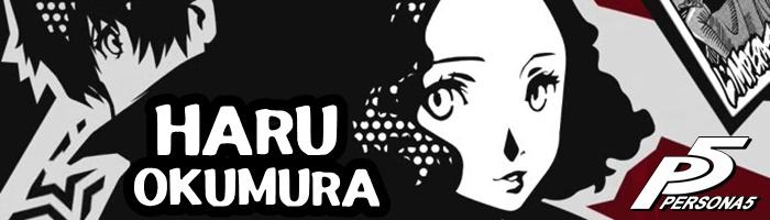 Persona 5 - Haru Okumura