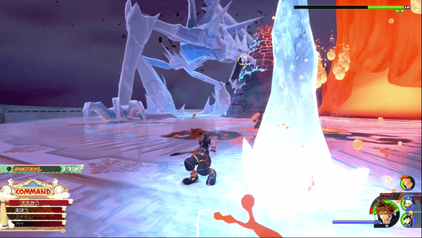 Kingdom Hearts 3 (KH3) Re:Mind - Fire Titan and Ice Titan Boss Guide