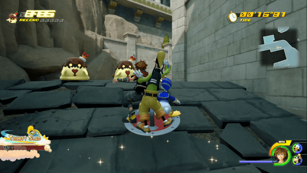 KH3 Pudding Mini-Game