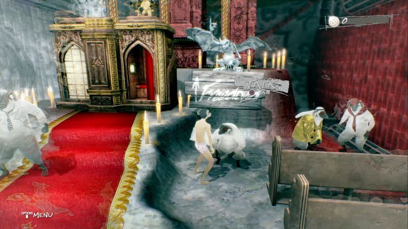 Catherine: Full Body - Sheep near the Signpost