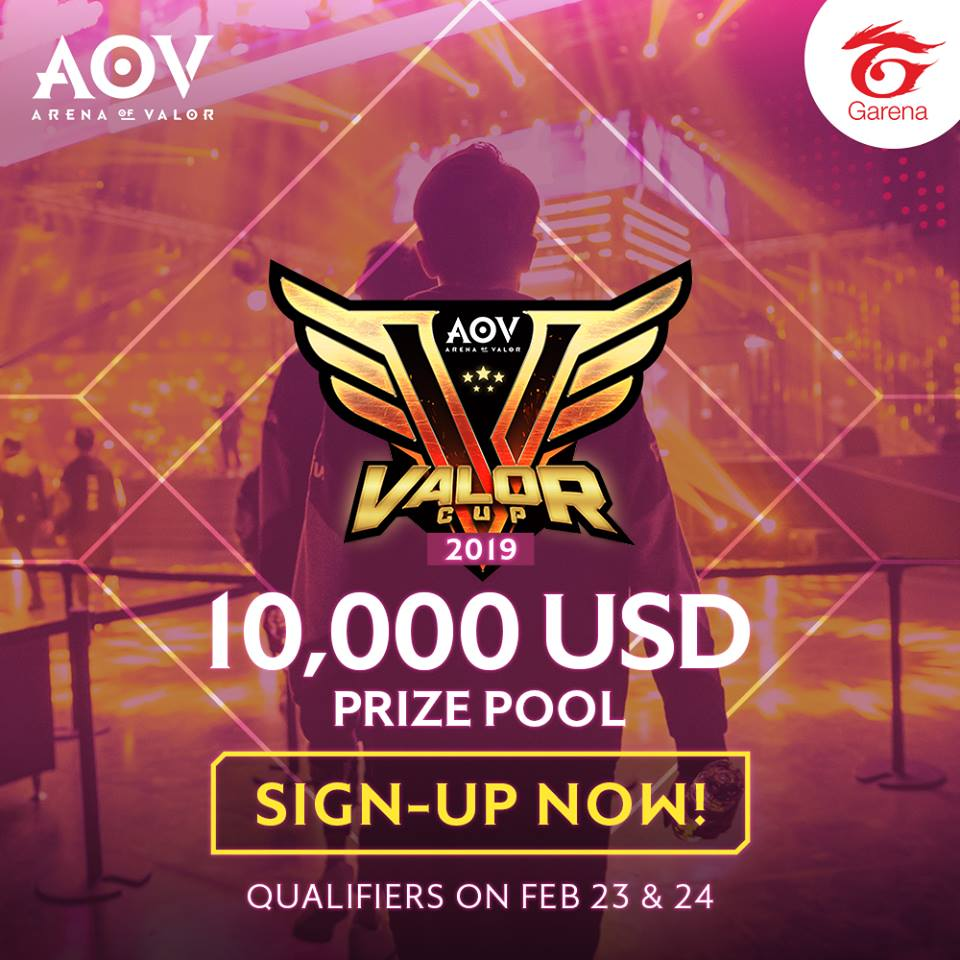 Arena of Valor - Valor Cup 2019