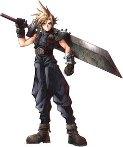 Final Fantasy VII - Cloud Strife Icon