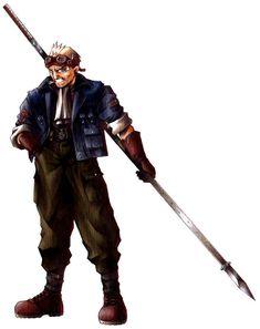 Final Fantasy VII - Cid Highwind