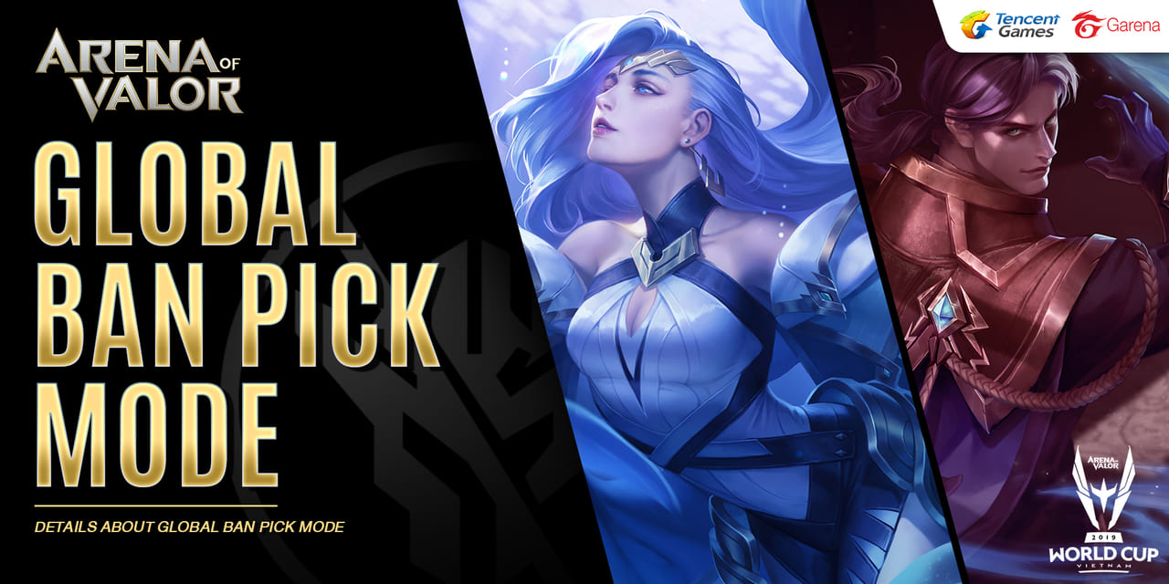 Arena of Valor - Global Ban-Pick System