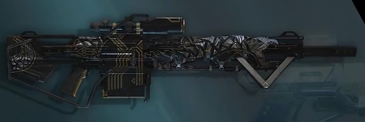 Anthem Wyvern Blitz Sniper Rifle