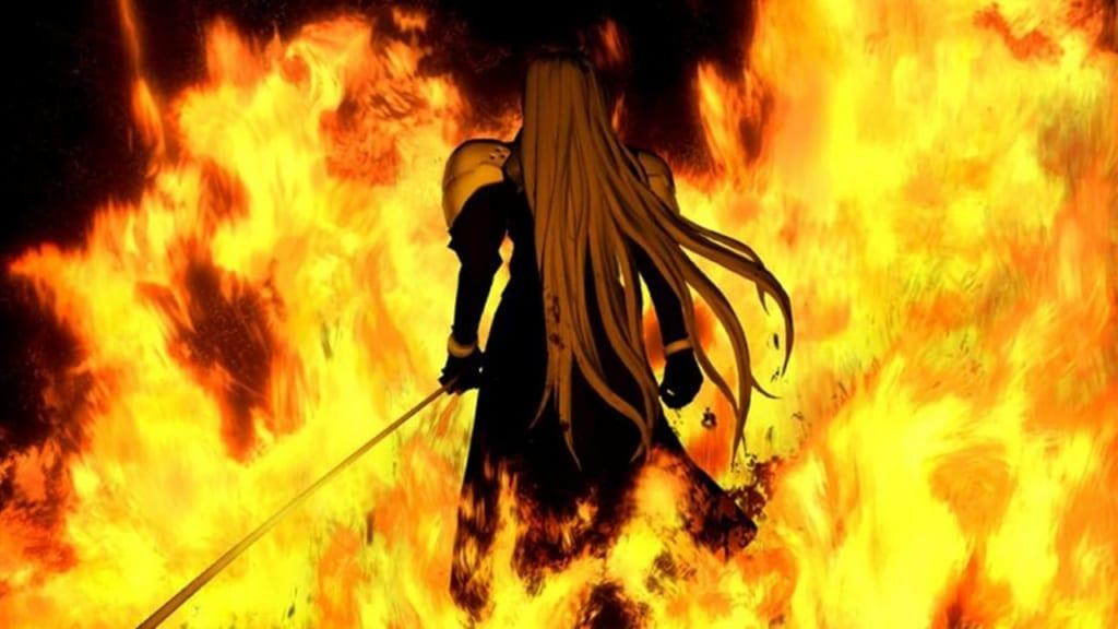 Final Fantasy VII - Sephiroth Header