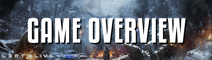 Left Alive - Game Overview Banner