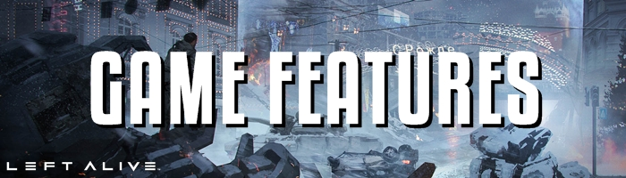 Left Alive - Game Features Banner