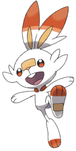 Pokemon Sword and Shield Scorbunny