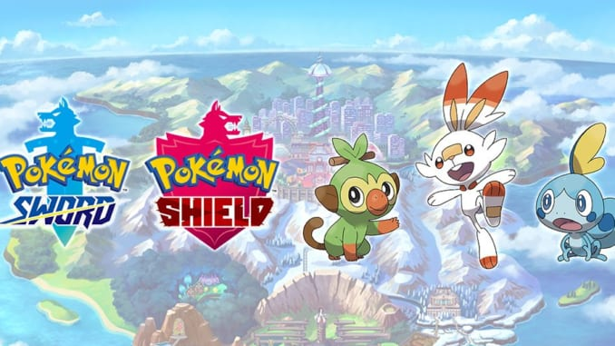 Pokemon Sword and Shield Starter Dual Types