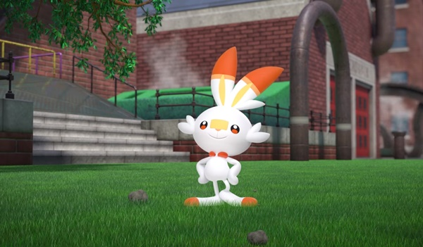 Pokemon Sword and Shield Scorbunny Pokemon Direct