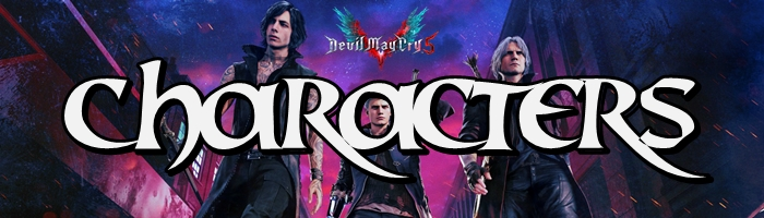 Devil May Cry 5 - Characters Banner