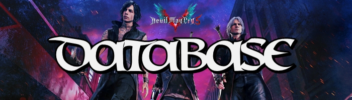 Devil May Cry 5 - Database Banner