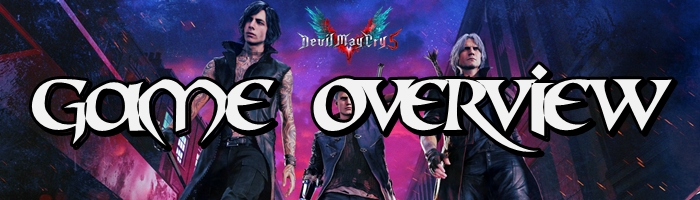 Devil May Cry 5 - Game Overview Banner