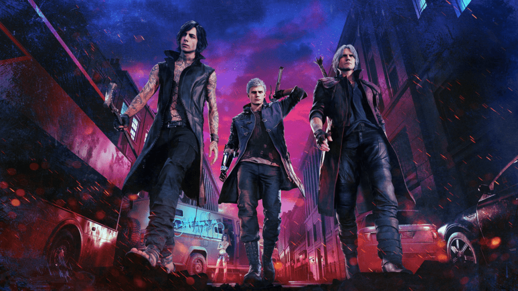 Devil May Cry 5 - Main Characters