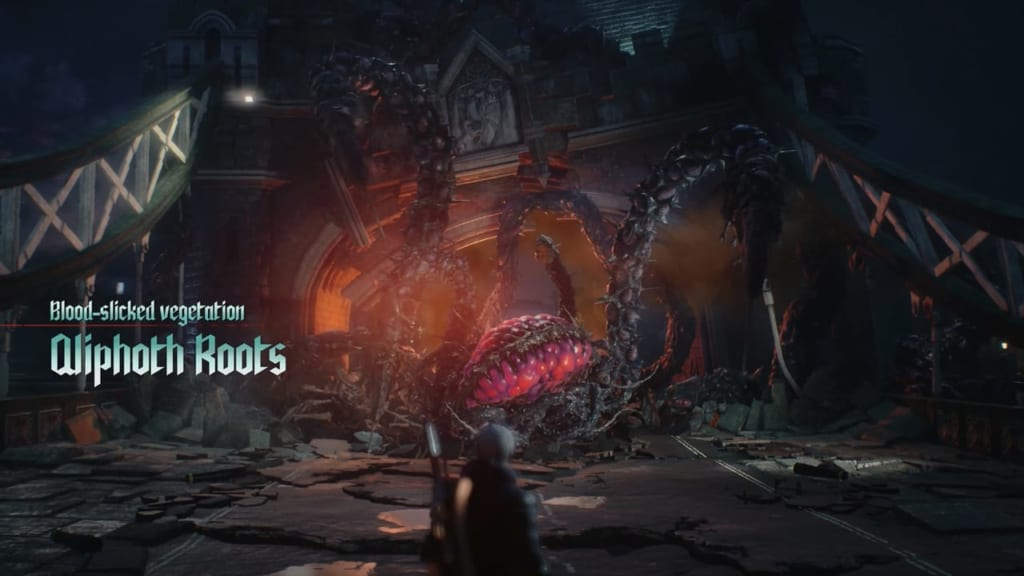 Devil May Cry 5 - Qlipoth Roots Boss