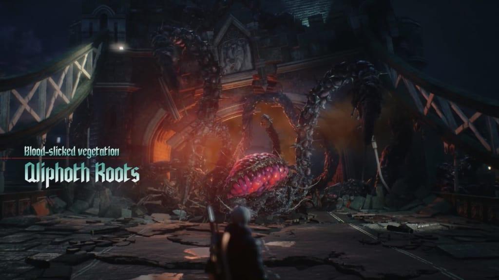 Devil May Cry 5 - Qlipoth Roots Boss