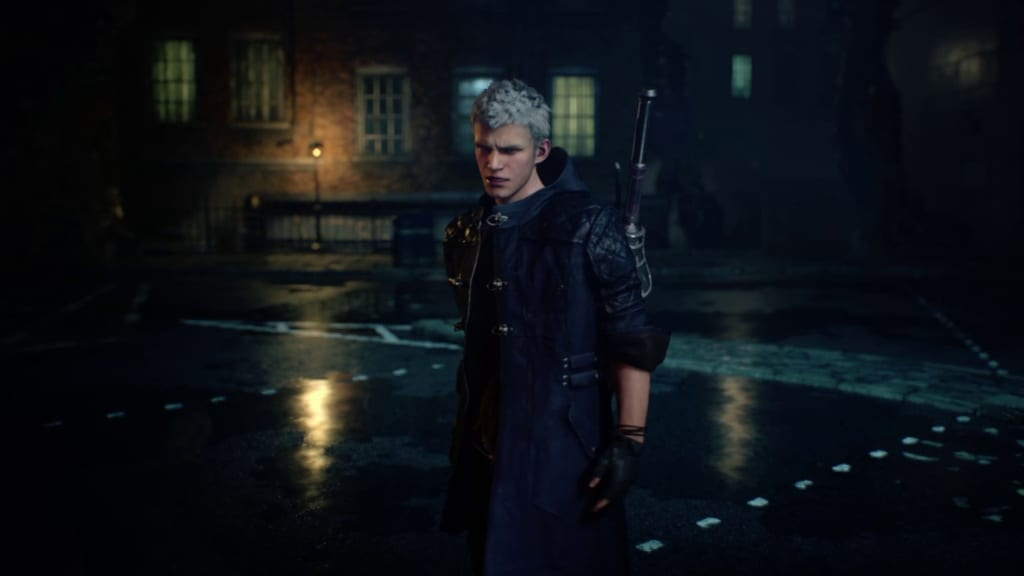 Devil May Cry 5 - Mission 1 - Red Grave Alleyway