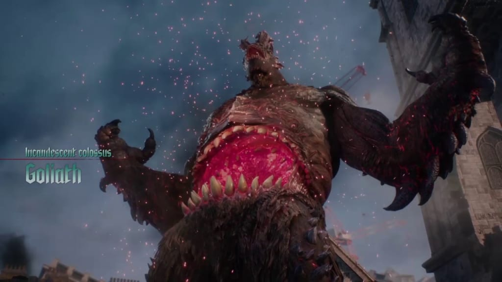 Devil May Cry 5 - Mission 1 - Goliath Boss