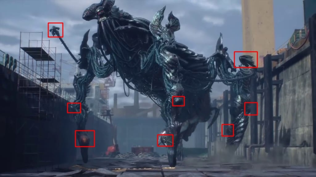 Devil May Cry 5 - Mission 6 - Gilgamesh Boss Guide