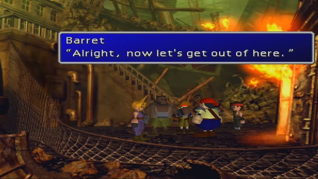 Final Fantasy 7 (FFVII) - Walkthrough Part 1 – Mako Reactor #1