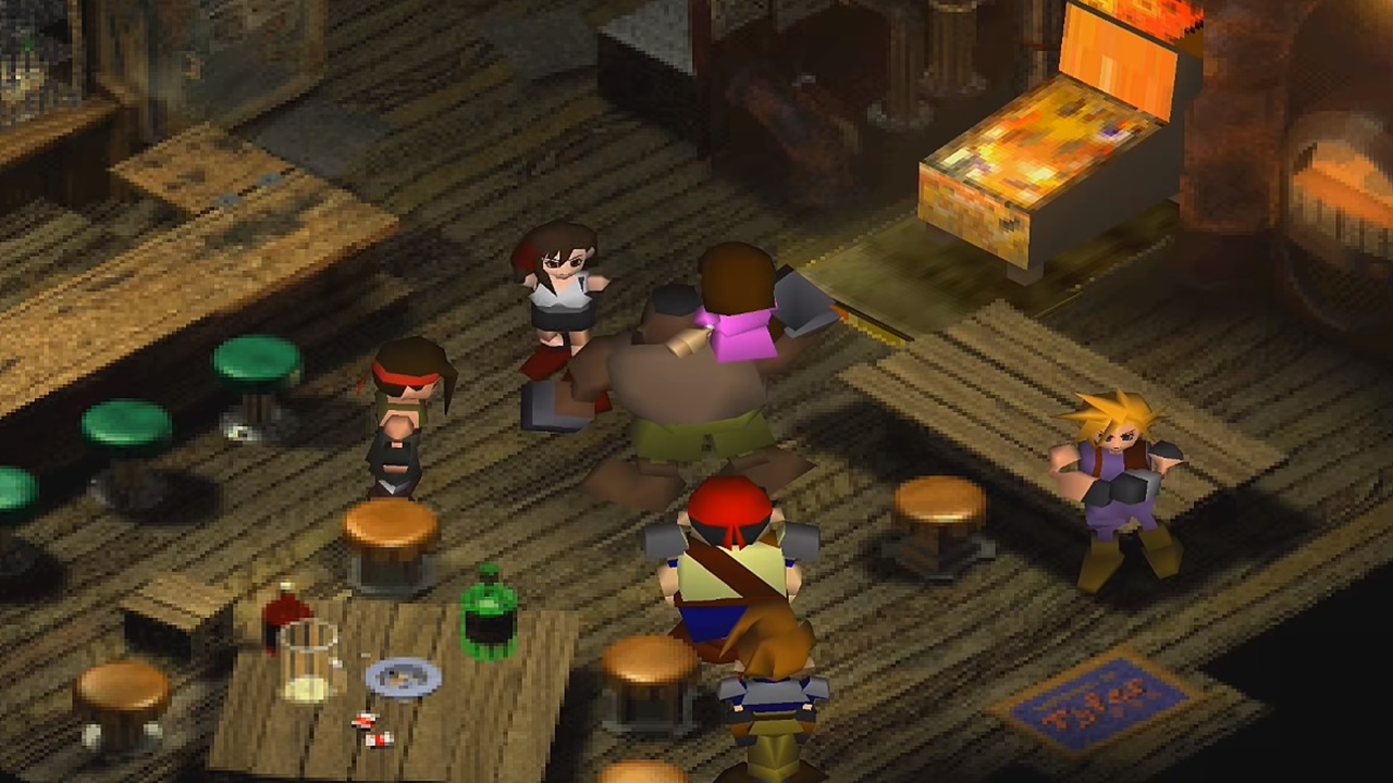 Final Fantasy 7 Ffvii Walkthrough Part 2 Mako Reactor 5 Samurai Gamers
