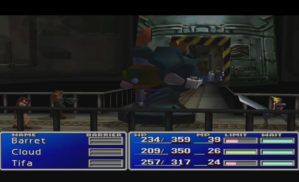 Final Fantasy 7 (FFVII) - Walkthrough Part 2 - Mako Reactor #5