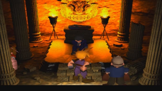 FFVII Temple of the Ancients Walkthrough