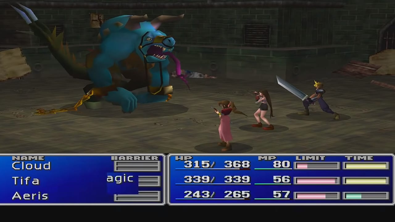 Final Fantasy 7 (FFVII) - Aps Boss Guide - SAMURAI GAMERS