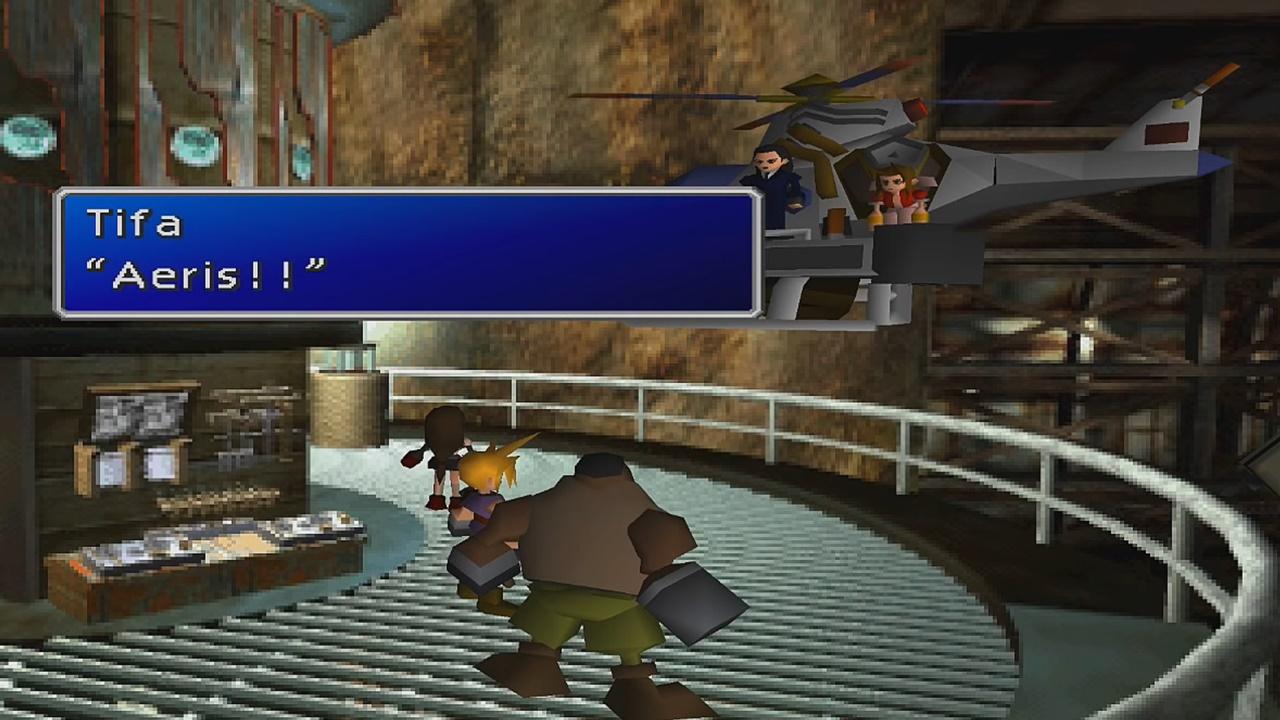 Final Fantasy 7 Ffvii Walkthrough Part 4 Destruction Of Sector 7 Samurai Gamers