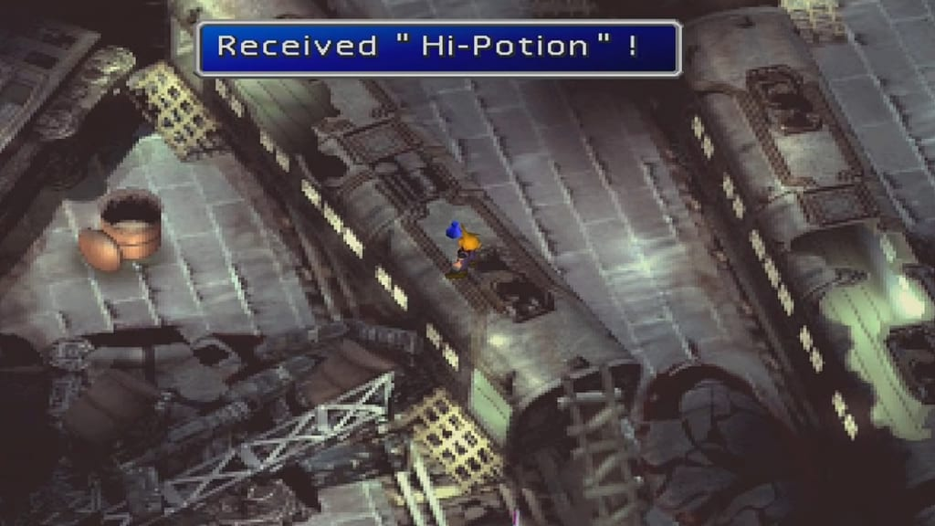 Final Fantasy 7 (FFVII) - Walkthrough Part 4 - The Fall of Sector 7