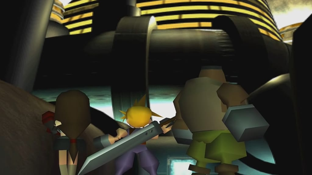 Final Fantasy 7 (FFVII) - Walkthrough Part 5 - Shinra Headquarters