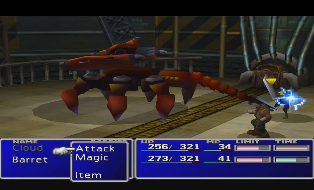 Final Fantasy 7 (FFVII) - Guard Scorpion Boss Guide