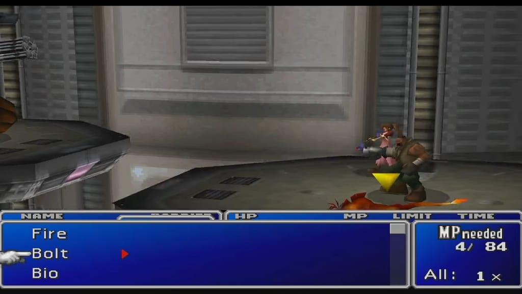 Final Fantasy 7 (FFVII) - Hundred Gunner Boss Guide
