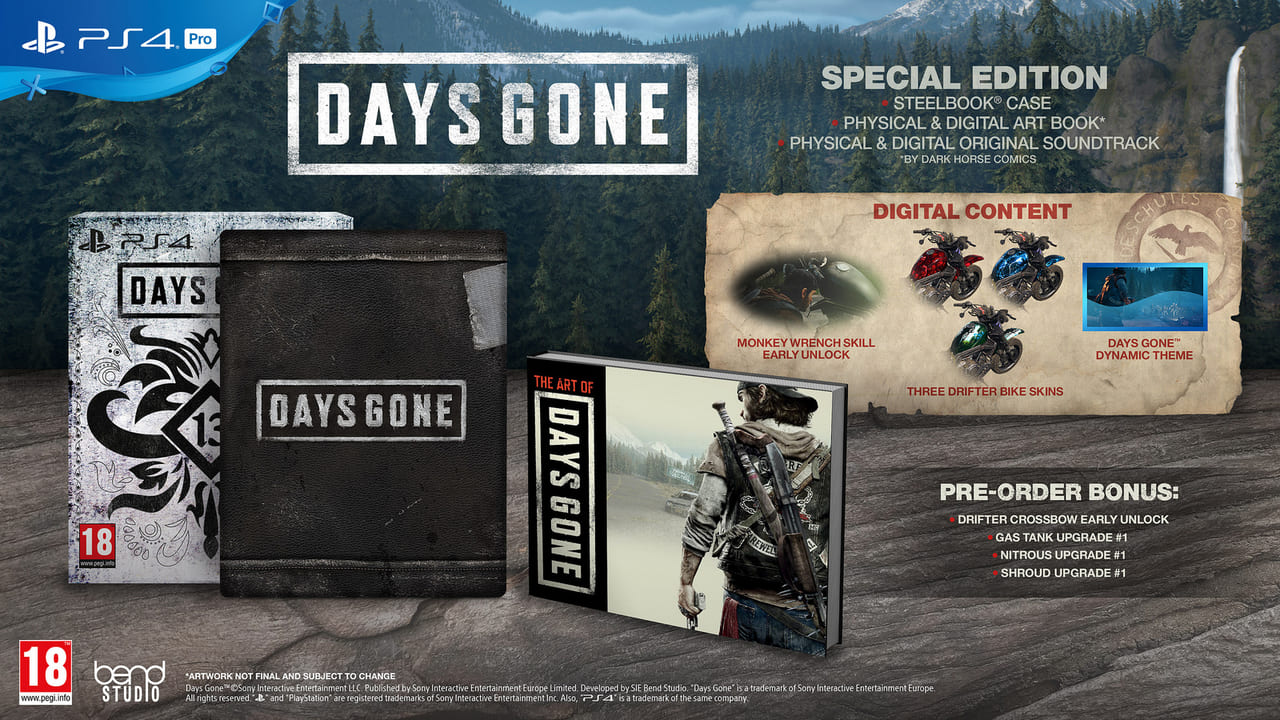 Days Gone Special Edition