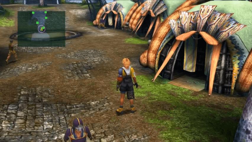 Final Fantasy X / X-2 - Walkthrough Part 4 - Besaid Village ...