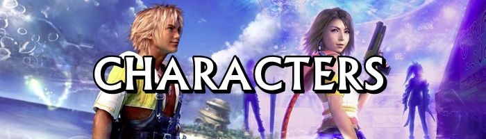 Final Fantasy X / X2 - Characters