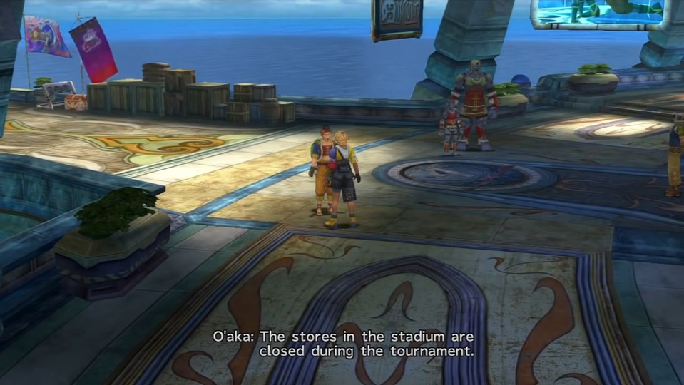 FFX Luca Walkthrough