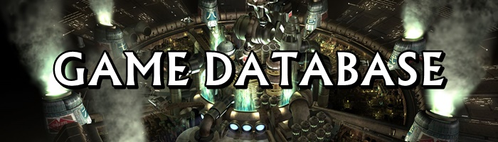 Final Fantasy 7 (FFVII) - Game Database
