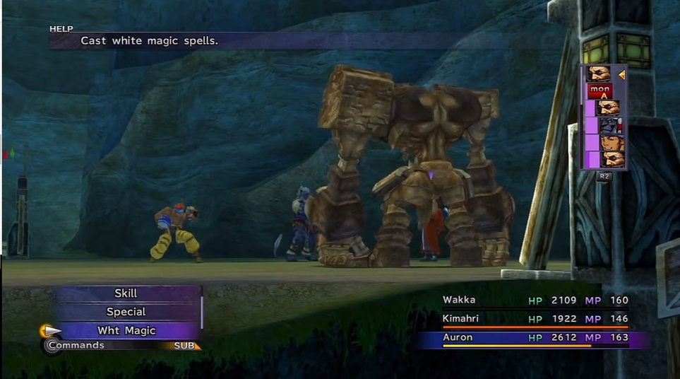 FFX Calm Lands Walkthrough
