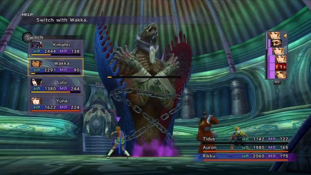 Final Fantasy X / X-2 HD Remaster - Walkthrough Part 26 - Macalania Lake and Temple