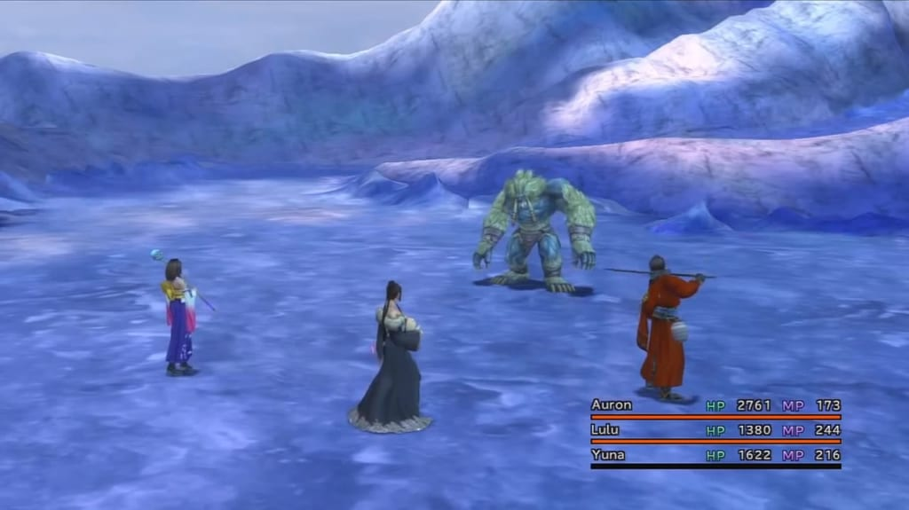 Final Fantasy X / X-2 HD Remaster - Walkthrough Part 26 - Macalania Lake and Temple