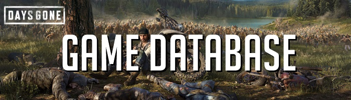 Days Gone - Game Database