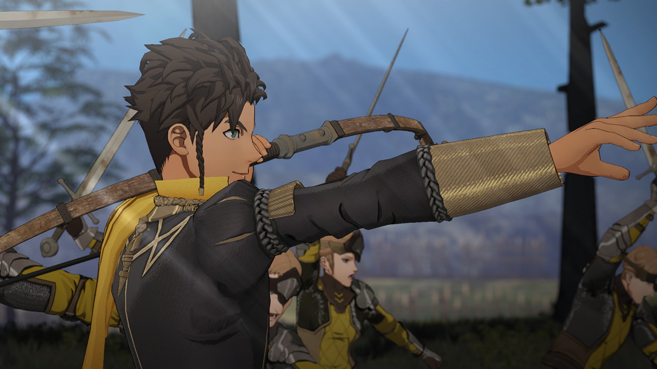 Fire Emblem: Three Houses Claude