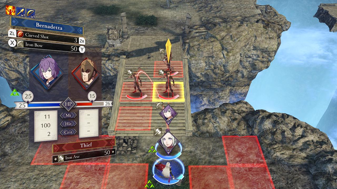 Fire Emblem: Three Houses Battle System