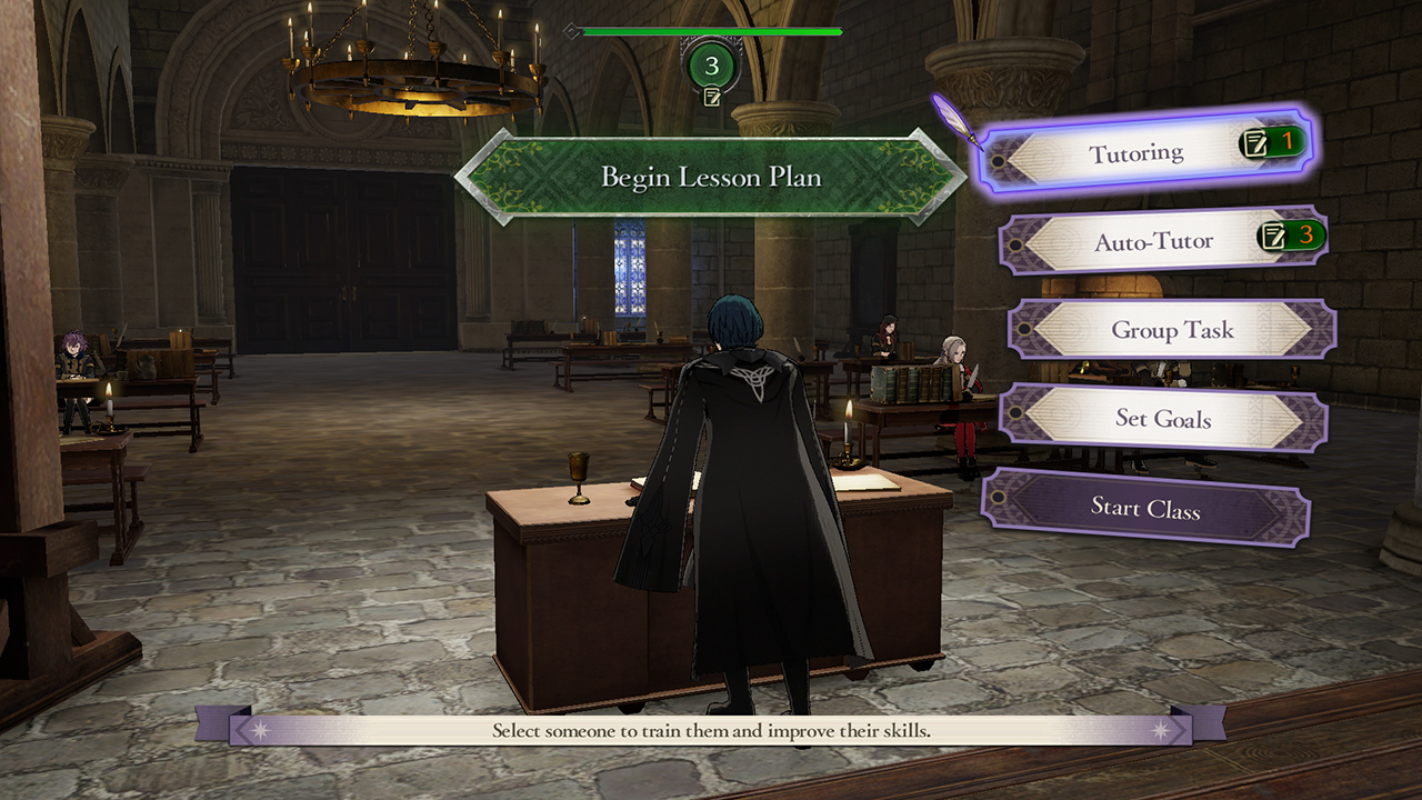 Fire Emblem: Three Houses Social Features
