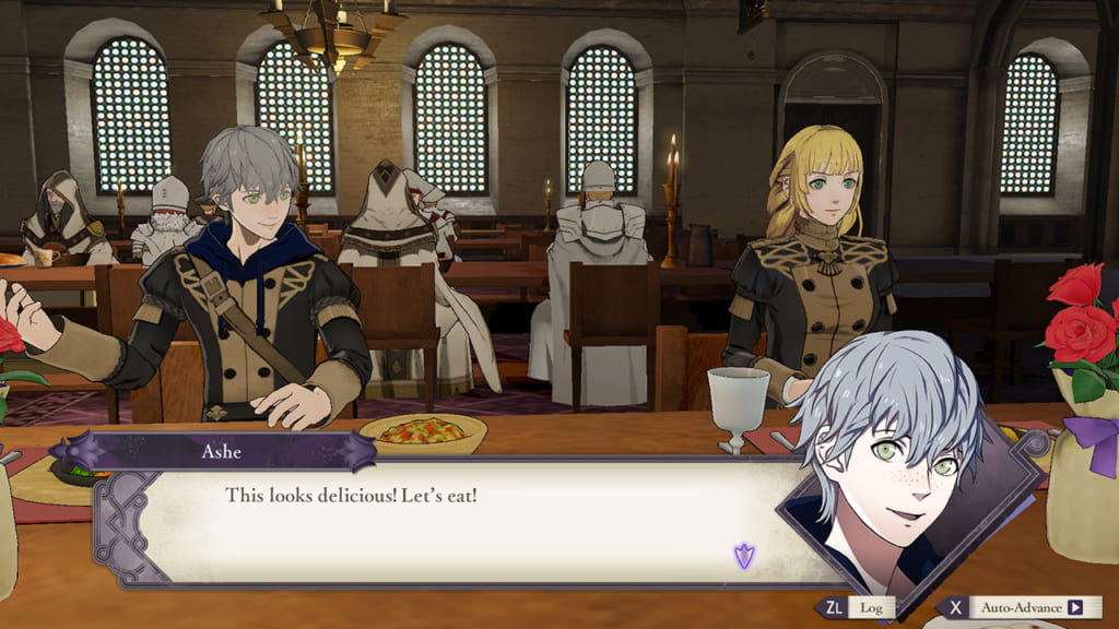 Fire Emblem: Three Houses - Dining Hall