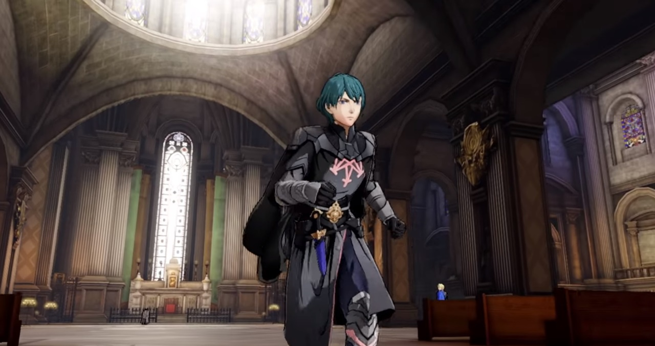 Fire Emblem Three Houses Exploration