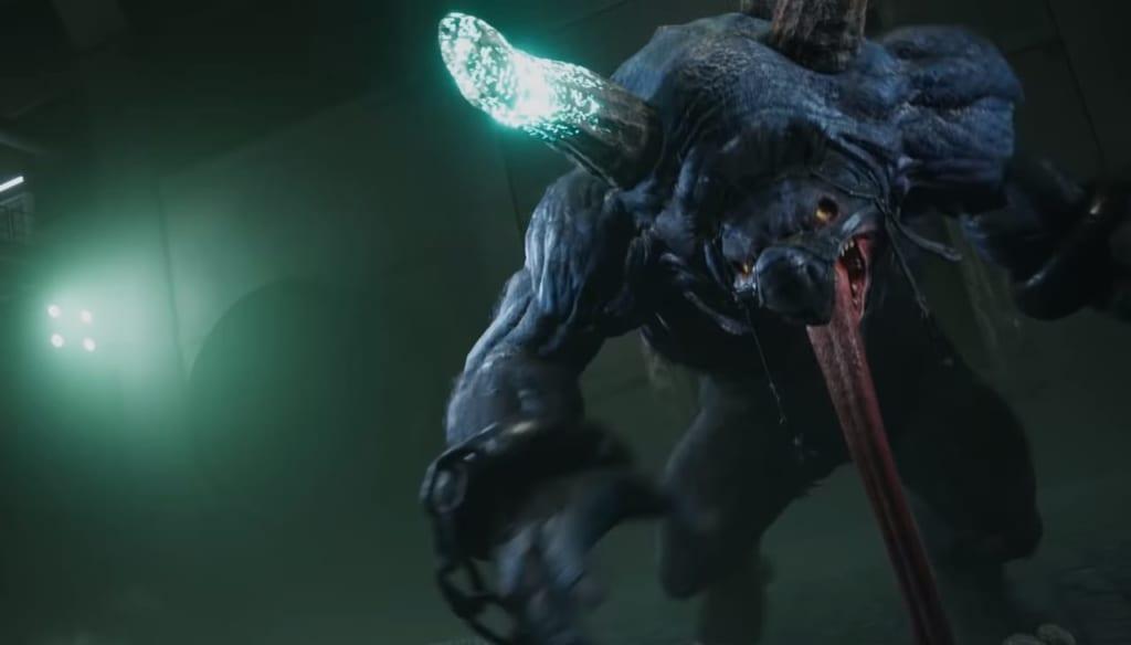 Final Fantasy 7 Remake / FFVII Remake - Trailer Breakdown and Analysis - Aps Boss Enemy